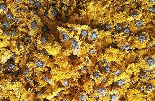 350 gramos de té de hierbas amarillo crisantemo flor seca hierba 100% natural disfrutado por el emperador en la antigua China