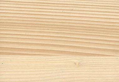 cinius Lit en Bois, Lit Japonais Nokido 160x200 avec sommier à Lattes, Non Teinte
