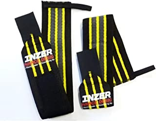 """Inzer Wrist Wraps - Gripper 20"""" (Pair) Powerlifting Weight Lifting Wraps"""