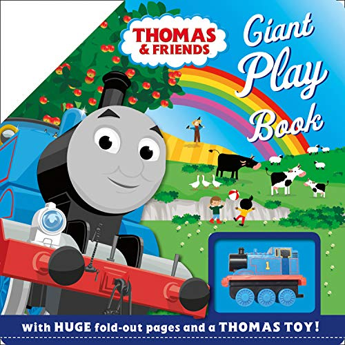 Thomas & Friends: Giant Play Book (with giant fold-out scenes and a Thomas toy!): Take your Thomas toy on a journey through this Giant Play Book!