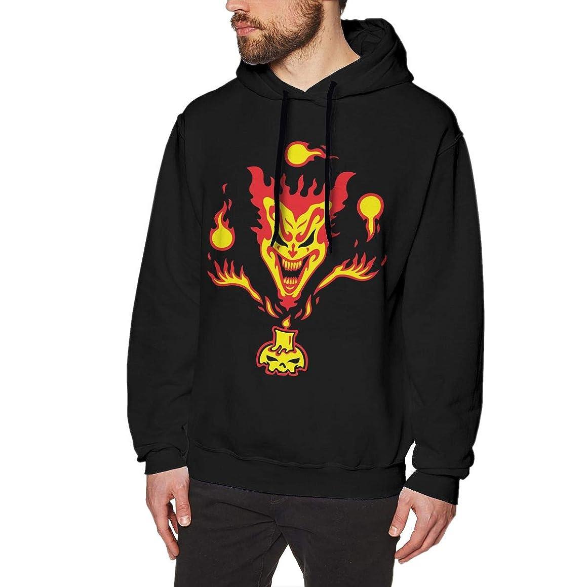 LIALUER Hatchetman ICP Men's Pullover Hooded Sweatshirt