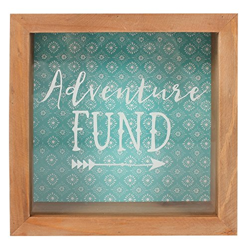 Something Different Décoration Boho Bandit « Adventure Fund », Marron/Vert