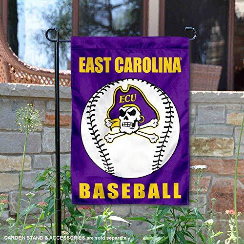 East Carolina Pirates Baseball Garden Flag and Yard Banner