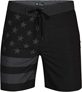 "Hurley Men's Phantom Patriot 18"" Boardshort"
