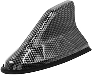 AUTUT Shark Fin Design Car Decorative Antenna Dummy Antenna Black