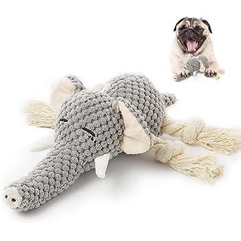 犬 噛むおもちゃ ぬいぐるみおもちゃ 音の出るおもちゃ 犬用 喰むおもちゃ 丈夫で長持ち 犬歯磨きと清潔 ムズムズ解消 犬用 知育玩具 知育トイ 遊び好き天性満足 挙動激励 運動不足解消 (ぞうさん型)