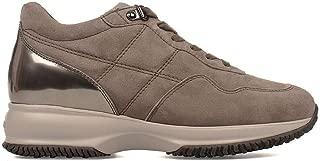 HOGAN Luxury Fashion Womens HXW00N0J1001SG003L Brown Sneakers | Season Permanent