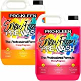 Pro-Kleen Advanced pH Neutral Snow Foam Pre-Wash 5 Litres of Cherry and 5 Litres of Orange – Extremely Powerful & Easy To Use, No Harsh Chemicals