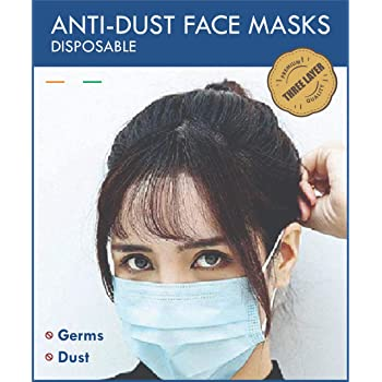 MYSWA Wecare 3PLY Non Woven Disposable Face Mask (Pack of 25)
