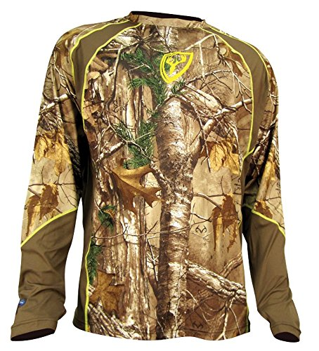 Find Discount Scent Blocker 1.5 Performance Long Sleeve Shirt, Real Tree Xtra, XX-Large