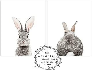 L'AMOUR fou Set of 2 Baby Animal Nursery Prints 8