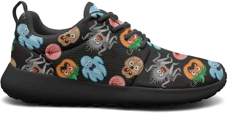 Opr7 Ghost Halloween Pumpkin Lightweight Running shoes for Women Sneaker Sport Comfort