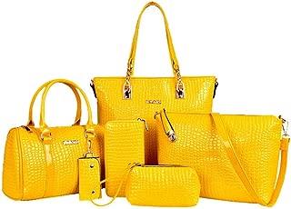 Handbags Women's Gift Crossbody PU Bag 6-piece