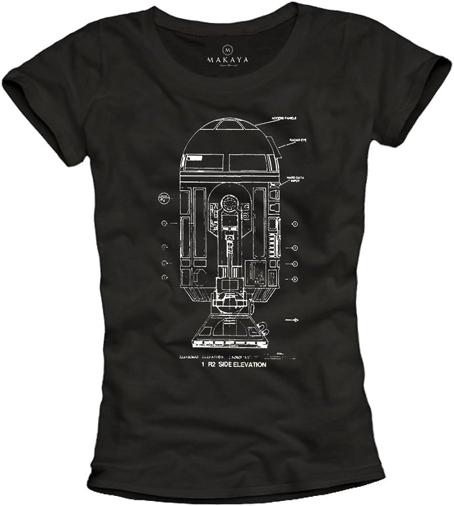 Camisetas Geek Mujer