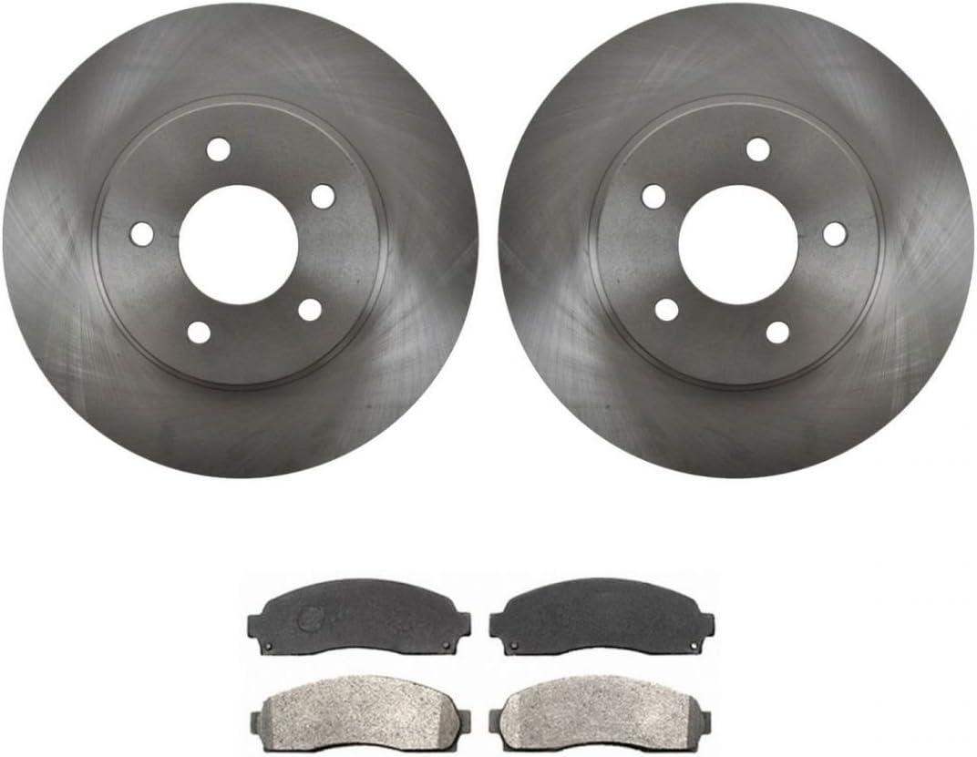Front Premium Dallas Mall Posi Semi Metallic Brake Kit Factory outlet Pad Rotor GM Tr for