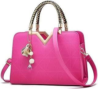 FengheYQ Women's Messenger Bag Trend Fashion Handbag Shoulder Slung Handbag (Color : Purple)