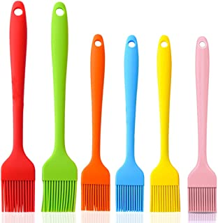 Miso Basting Brushes Silicone, Pastry Baking Brush, Brush Spread Oil Butter Sauce Marinades for BBQ Cooking Kitchen,Cakes ...