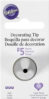 Wilton 5 Round Decorating Tip, Stainless Steel