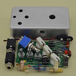 Build your Fuzz Effects Pedal Kits DIY Electric Guitar Stomp Box Kit (chrome)
