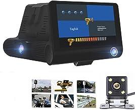 "$111 » Portable GPS Detector 4.0"" DVR Camera 2 in 1 Car Radar Detector Version 1080P Anti Radar Detector Dash Cam Three Lens Rada..."