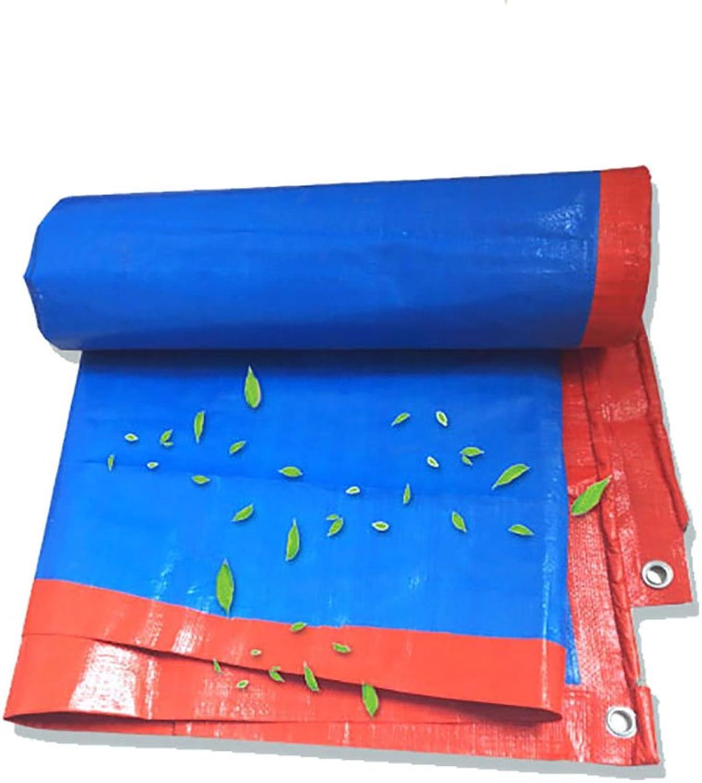 Z&YY Rainproof Cloth Tarpaulin Heavy Duty Thicken Waterproof Preservative Trap Ground Sheet Covers Shed Cloth Sunscreen Tent Splice Awning Sun Shade Visor Outdoor-orange,180G  M2