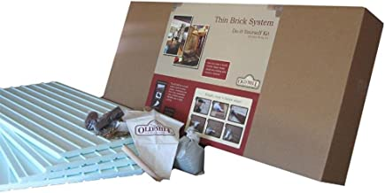 Old Mill Brick 56 sq. ft. Thin Brick Do-It-Yourself Installation System