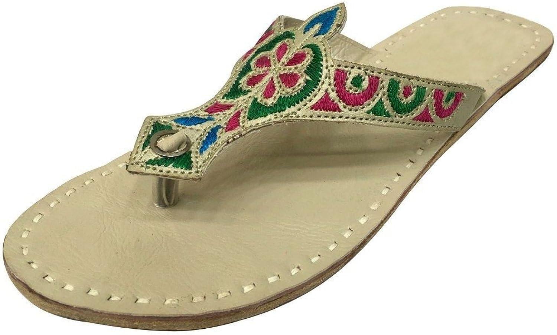 Step n Style Ladies Summer Casual colorful Beaded Ethnic Bead Pakistani Kolhapuri