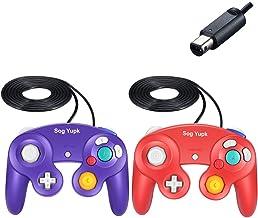 Gamecube Controller, 2 Stück, SogYupk Wired Controller Classic Gamepad Joystick für..