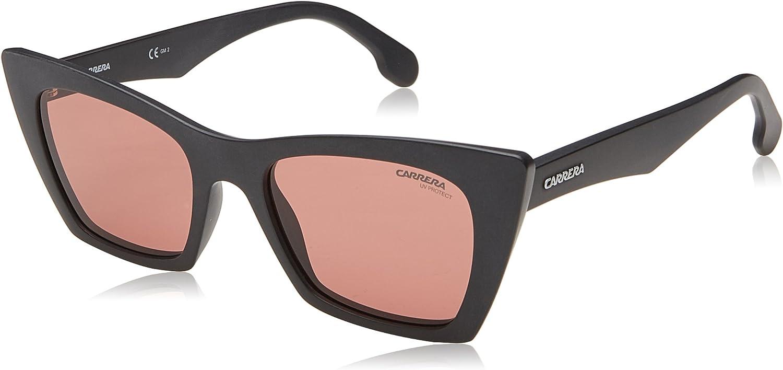 Carrera Women's 5044 s Cateye Sunglasses MTT BLACK 50 mm