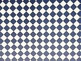Melody Jane Puppenhaus Marineblau Weiß Fliesen Effekt Papier Miniatur 1:12 Bodenbelag Diagonale