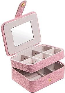 ZXC Home Jewelry Box Portatile Semplice Multi-Funzione di Grande capienza Jewelry Box Anello Collana Braccialetto Gioielli...