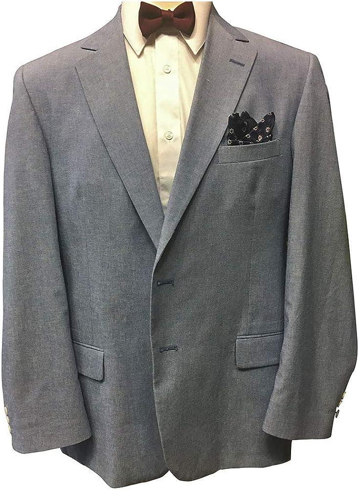 Hardwick 58 Regular USA Made Big and Tall 100% Cotton Seersucker Sport Jacket