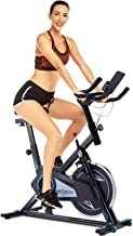 ANCHEER Spin Bike for Home with 40lb Flywheel, Quiet & Smooth, Stationary Exercise Bike for Cardio Workout, Indoor Cycling Bike with Comfortable Seat & Adjustable Resistance, Belt Drive