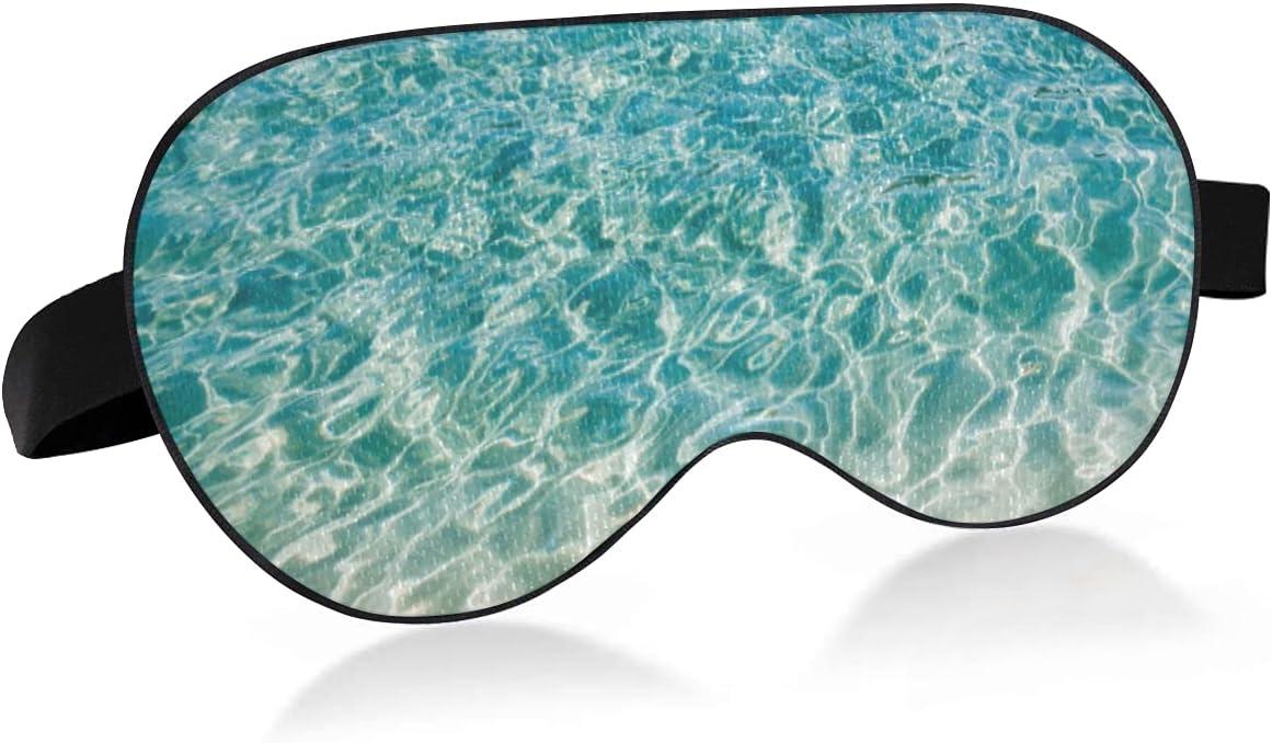 xigua Blue Under blast sales Pacific Ocean Breathable Cool Import Sleeping Mask Fee Eyes