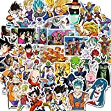 50 Unids / Set No Repetir Anime Dragon Ball Diy Pegatinas Impermeable Maleta Guitarra Monopatín Graffiti Pegatinas Para Niños