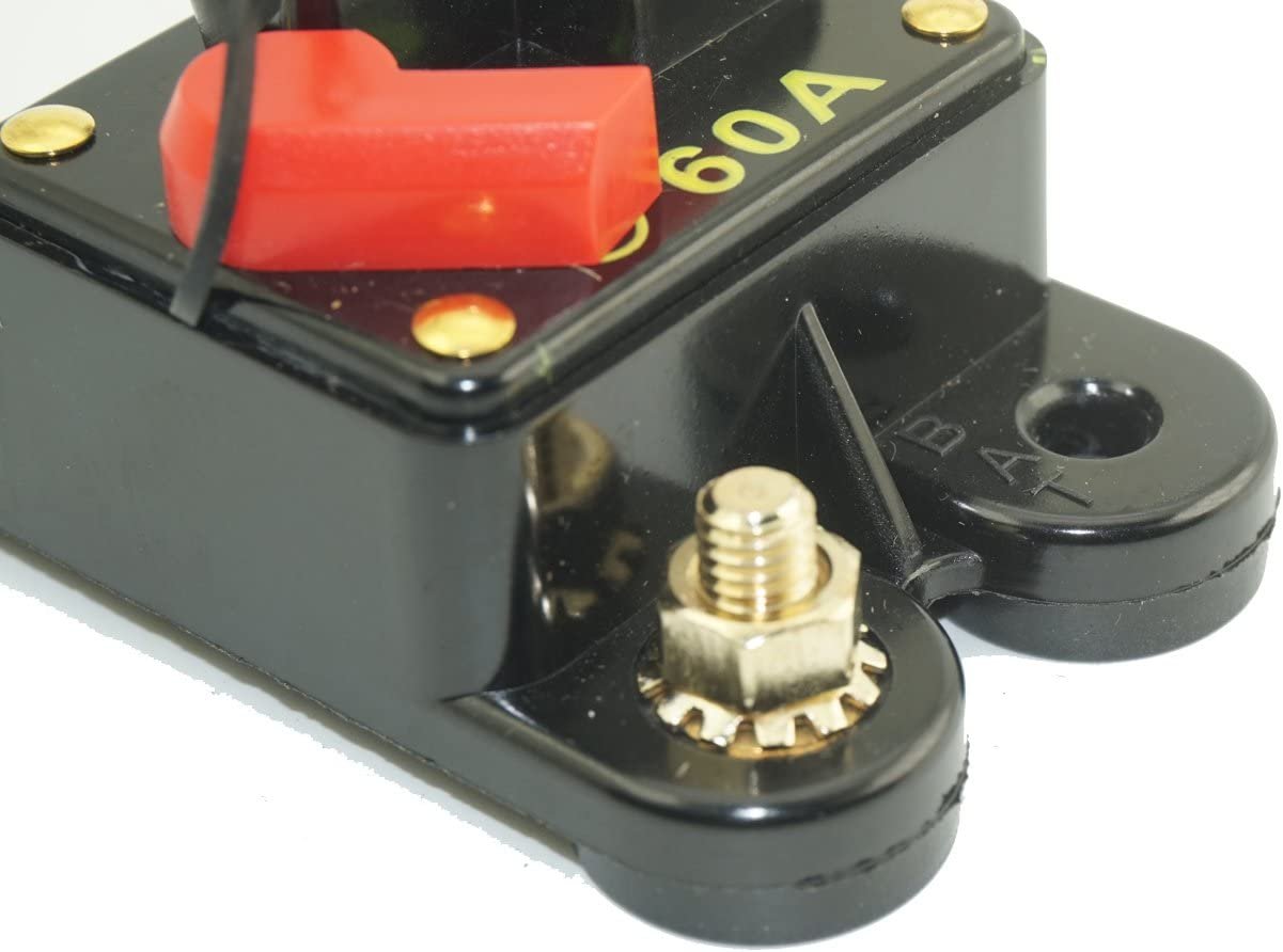 Automotive 140A 140 Amp Waterproof Circuit Breaker with Manual ...