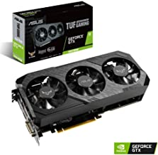 Tarjeta gráfica ASUS TUF 3-GTX1660S-A6G-GAMING (NVIDIA GeForce GTX 1660 Super, 6 GB, DDR 6, 192 bit, 1408 Cuda Núcleos, 1830, MHz, HDMI, DisplayPort, DVI, PCI Express 3.0 x 16)