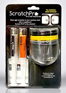 Scratch Pro Kit for Removing Scratches and Polishing Stainless Steel Sinks