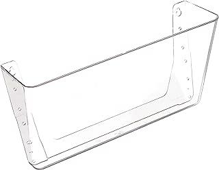 Deflecto Wall Pocket, 1 Compartment, 13 x 4 x 7