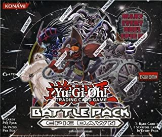 YuGiOh Epic Dawn Battle Pack Unlimited Booster Box 36 Packs