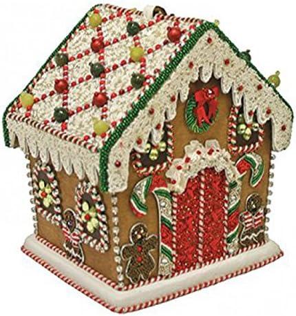 Mary Frances Gingerbread House Beaded Jeweled Christmas Holiday Santa Handbag Purse product image