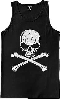 Skull and Crossbones - Badass Men's Tank Top