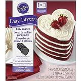 Wilton 5 Layer Heart Cake Pan Set