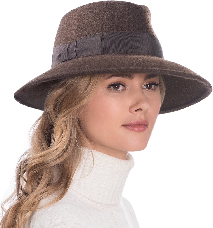 Eric Javits Luxury Fashion Designer Women's Headwear Hat  Wool Kim