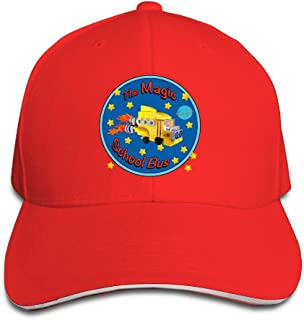 The Magic School Bus Logo Baseball Hats By Cnlowter