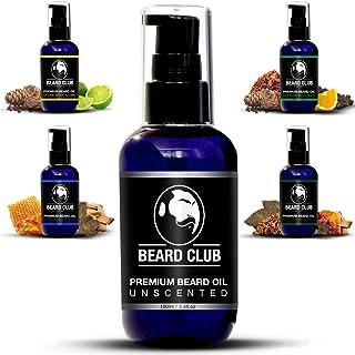 Aceite Para Barba Premium - Sin Perfume 100ml | Deja tu Barba Suave Sin Picor y Sin Escamas Ayuda a su Crecimiento | Aco...