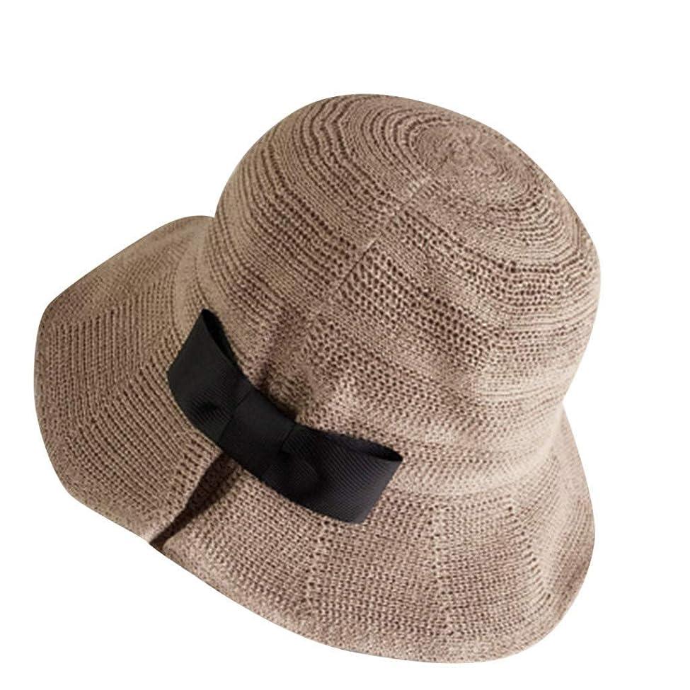 簡単に飼い慣らす運ぶサンバイザー 帽子 レディース 大きいサイズ 日よけ つば広 紫外線対策 小顔効果抜群 春夏 お出かけ用 ビーチハット 蝶結び ハット レディース 日除け帽子 紫外線対策 キャップ 漁師の帽子 漁師キャップ ROSE ROMAN