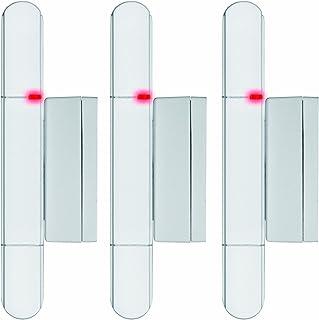 Olympia 5907 Contacto eléctrico para puerta y ventana, para dispositivo de alarma Protect 5080/6060/9060, 3 piezas