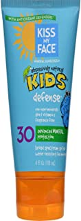 Kiss My Face Kids Defense Mineral SPF 30 Lotion Sunscreen 4 oz