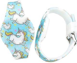 MINILUJIA Kid Girls Digital Watch Cute Cartoon Design Unicorn - Sweet Heart-Shaped Dial Led Waterproof Watch Comfortable Strap